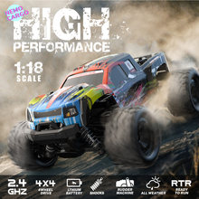 Nemocargo Remote Control Car RC Monster Truck Offroad 1:18 High Speed Radio Control Car Professional RC Toy Off Road 4x4
