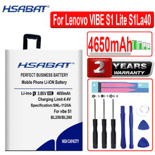 HSABAT BL250 4650mAh Batterie für Lenovo VIBE S1 S1a40 S1c50