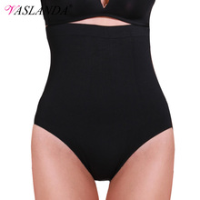 VASLANDA Women Body Shaper High Waist Panty Butt Lifter Tummy Control Panties Slim Shapewear Slimming Underwear Seamless Briefs