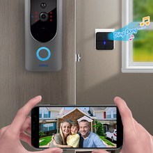 Doorbell-Camera Intercom Chime Phone-Sensor Video Ip-Wifi KERUI Battery-Powered 720P