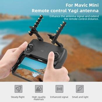 цена на Range Enhance Antenna Signal Booster Strengthen for DJI Mavic Mini 2 Pro Zoom Spark Air Drone Remote Controller Accessories