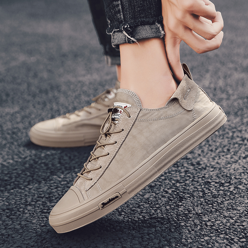 Summer Breathable Footwear Men's Canvas Shoes Hemp Lazy Flats For Men Cheap Moccasins Male Loafers Fashion Sneakers Men Shoes C4