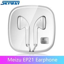 Orijinal Meizu EP21 kulaklık ile uzaktan ve mikrofon en iyi Android telefon için HIFI telefonları