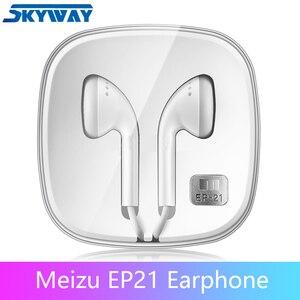Image 1 - Oryginalne słuchawki Meizu EP21 z pilotem i mikrofonem najlepsze na telefon z systemem Android HIFI