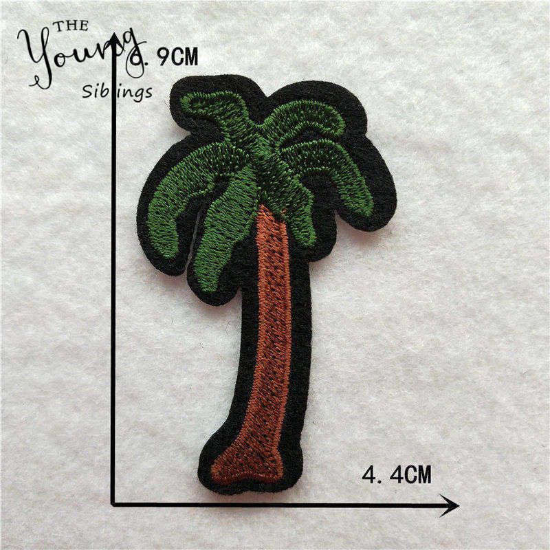 Cartoon Decoratieve Patch Hart Boom Vlinder Patroon Geborduurde Applique Patches Voor Diy Ijzer Op Patch Stickers Op De Kleding