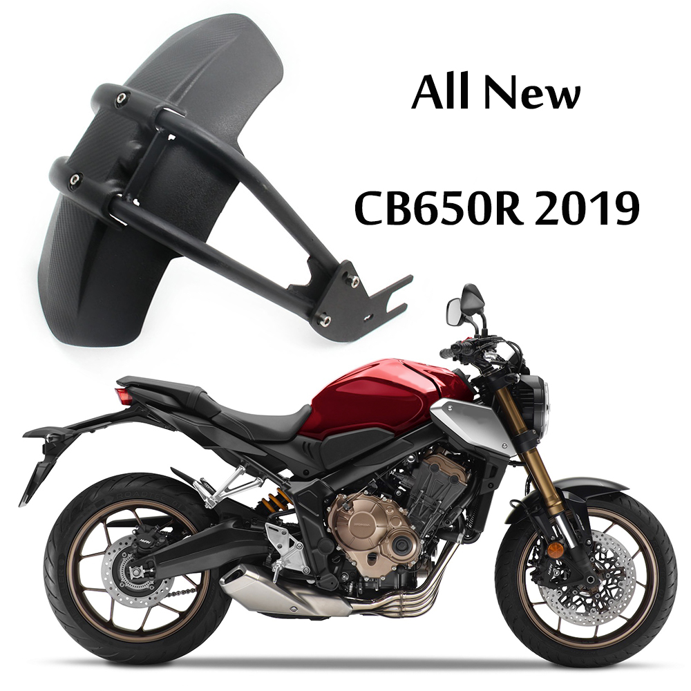 For Honda CB650R 2019 CB 650 R CB 650R CB650 Motorcycle Fender Rear Cover Tire Hugger Back Mudguard Splash Guard Protector