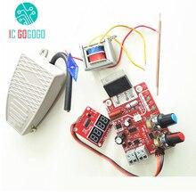 NY-D01 100A/40A точечная сварочная машина плата управления сварщик трансформаторный контроллер части панели регулировки времени тока цифровой дисплей