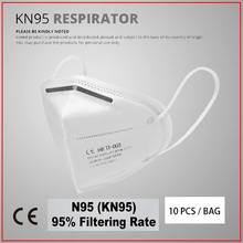 KN95-Mask-ffp2-Protective-Dust-Face-Mask-Filter-5-Layer-Mouth-Masks-Cover-Reusable-Respirator-Pm2.5-Mask 6 Bộ(China)