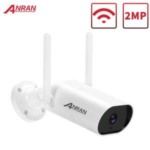 Беспроводная камера ANRAN, ip-камера видеонаблюдения, Двусторонняя аудио ИК-камера, Wi-Fi камера, наружная Поддержка Onvif 2MP/5MP