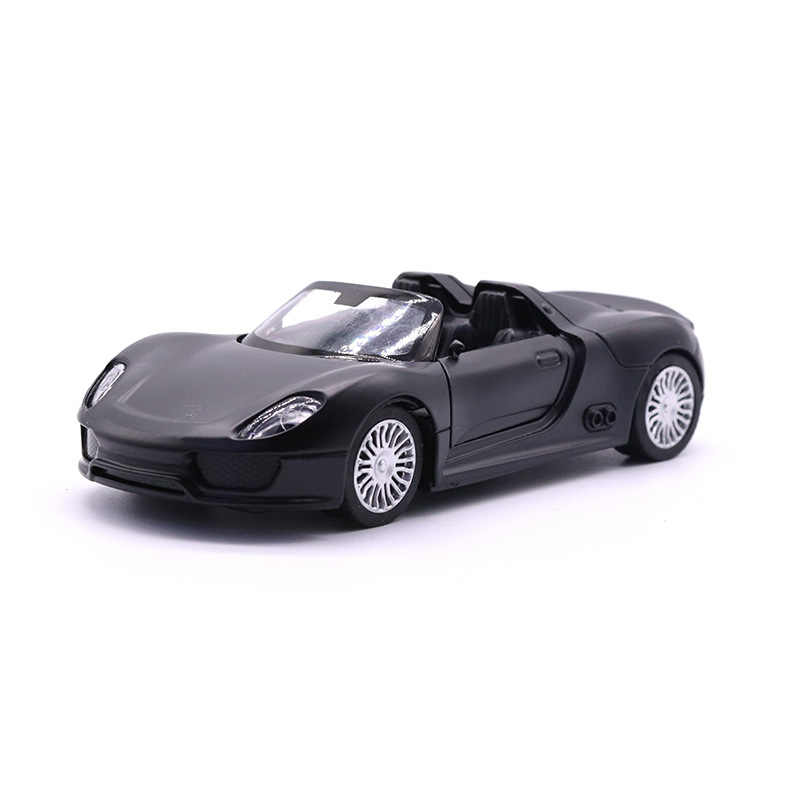 Porsche 918 Martini 1:32 Model Cars Soud /& Light Alloy Diecast Toys Gifts Black