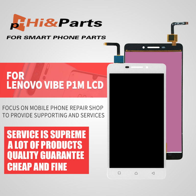 For Lenovo VIBE P1M LCD Display <font><b>P1MA40</b></font> P1MC50 Touch Screen Digitier Assembly Replacement High Quality image