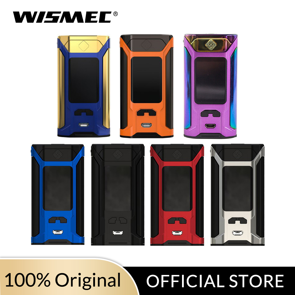 Original Wismec SINUOUS RAVAGE 230 TC Box Mod 200W Output VW/TC-Ni/TC-Ti/TC-SS/TCR Mode Electronic Cigarette Vape Mod Kit