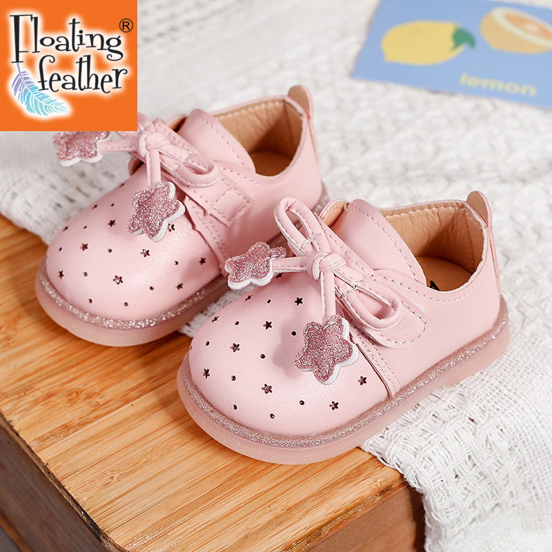 Baby Children Shoes Spring Autumn Girls Toddler Infant Flat Leather Footwear Single Soft Bottom Princess Sneakers chaussure bebe
