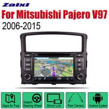 ZaiXi Android 2 Din Auto Radio DVD For Mitsubishi Pajero V97 2006~2015 Car Multimedia Player GPS Navigation System Radio Stereo