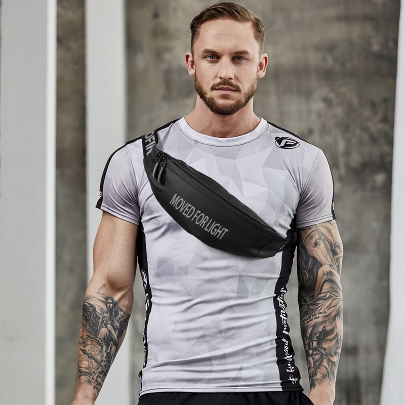 running - Unisex Running Waist Bag Men Women Outdoor Sports Riding Fitness Fanny Pack Black Bag Waterproof Sport Belt Waist Bags For Phone