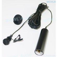 Кардиоидный конденсаторный Петличный Микрофон xlr 3pin 48v phantom