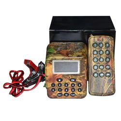 Odkryty 50W sprzęt do polowania ptak dzwoniący gęś kaczka przynęta dźwięk MP3 wzmacniacz bezprzewodowy pilot + Timer ON/OFF sprzęt myśliwski w Zewnętrzne narzędzia od Sport i rozrywka na