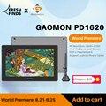 Планшет Графический GAOMON PD1620/PD1621, 15,6 дюйма, 3840x2160, 4K, IPS