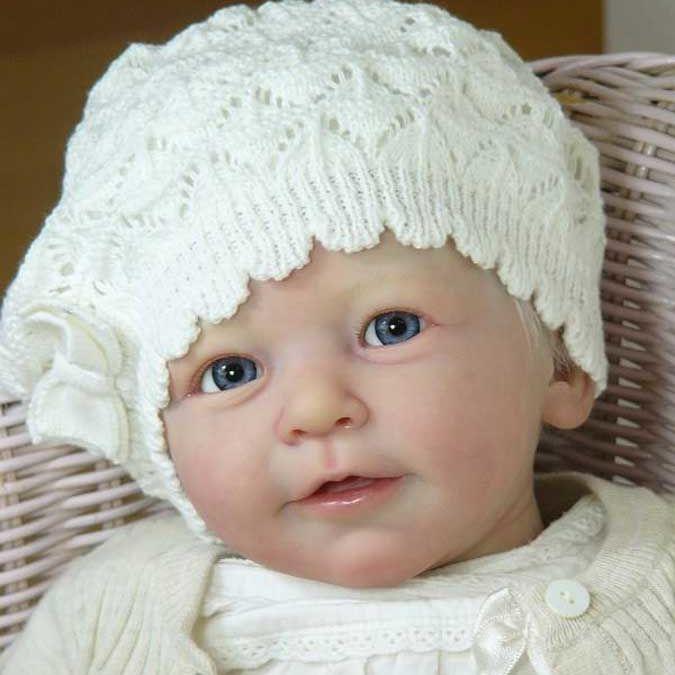 Аксессуары для кукол новорожденных 22 дюйма, комплект без рисунка «сделай сам», виниловая модель Лизы, маленькая принцесса, мягкое на ощупь