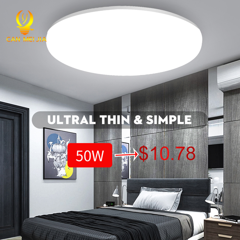 Led Ceiling Lights Ceiling Lamp 220V LED 20W 30W 50W Round Kitchen Lamps Motion Sensor Surface Mounted For Indoor Home Lighting