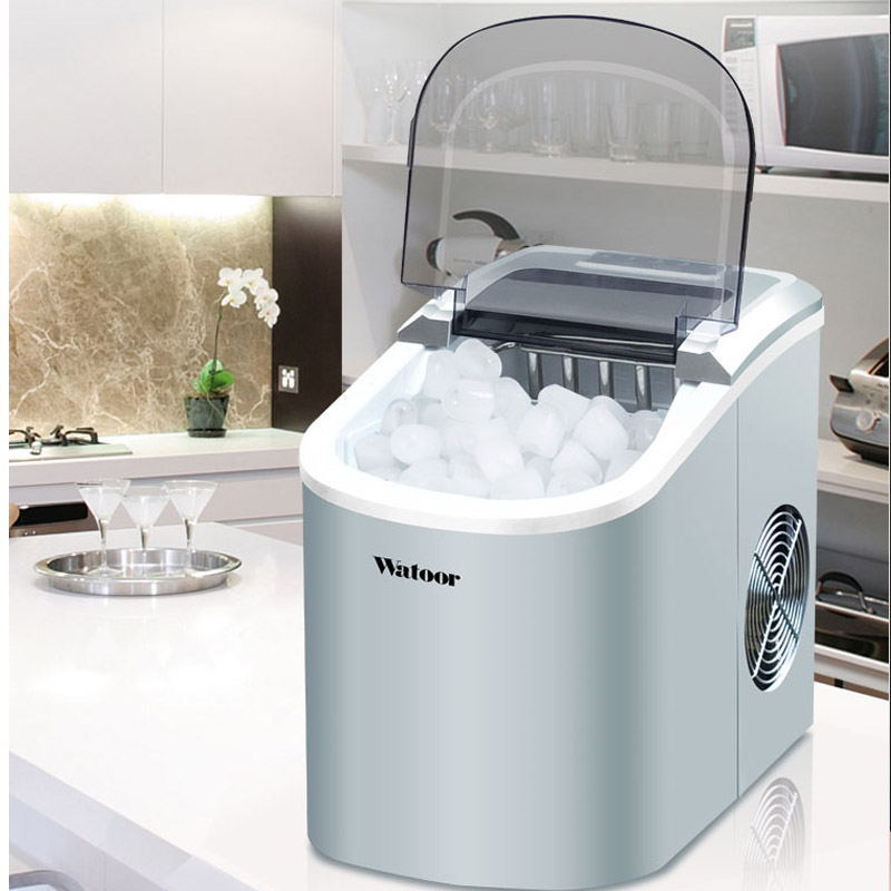 Ice Production 15kg/24h Bullet Ice Maker Cube Machine For Home/commercial Ice Block Making Machine Icee Machines 105W