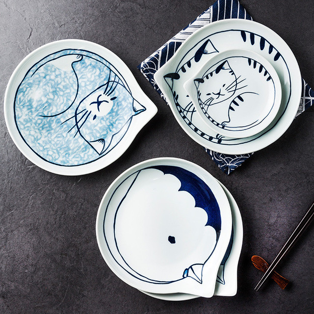 Ceramic Cat Table wear 3