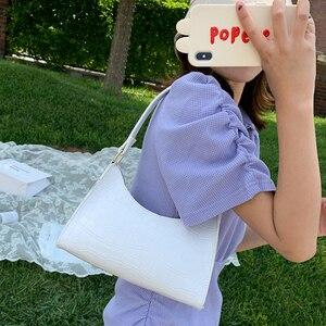 Новинка; Модные туфли в стиле ретро на каждый день женские сумки сумка через плечо женские кожаные однотонные Цвет цепи сумки из натуральной кожи для женщин 2021 изысканный сумка для покупок|Сумки с ручками|   | АлиЭкспресс