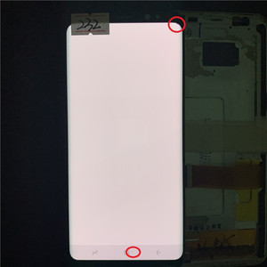 Image 5 - Original  SUPER AMOLED S8 LCD For Samsung Galaxy S8  G950 G950F  Lcd Display  Touch Screen Digitize With Black Dots