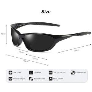 Image 5 - Мужские поляризационные солнцезащитные очки, уличные очки для вождения, рыбалки, с защитой UV400, 2020