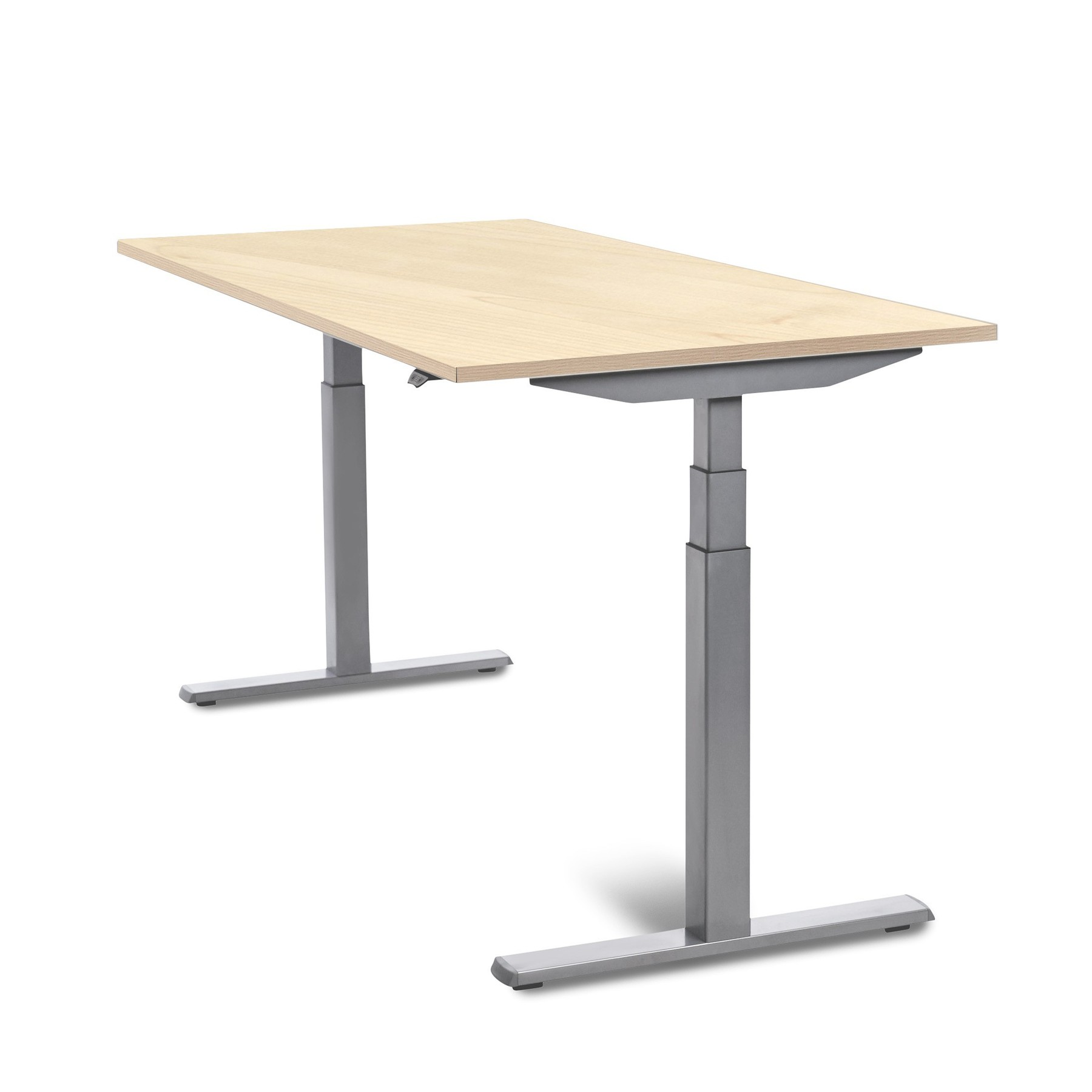 160cm HEIGHT ADJUSTABLE ELECTRICALLY DASH TABLE BEECH COLOR