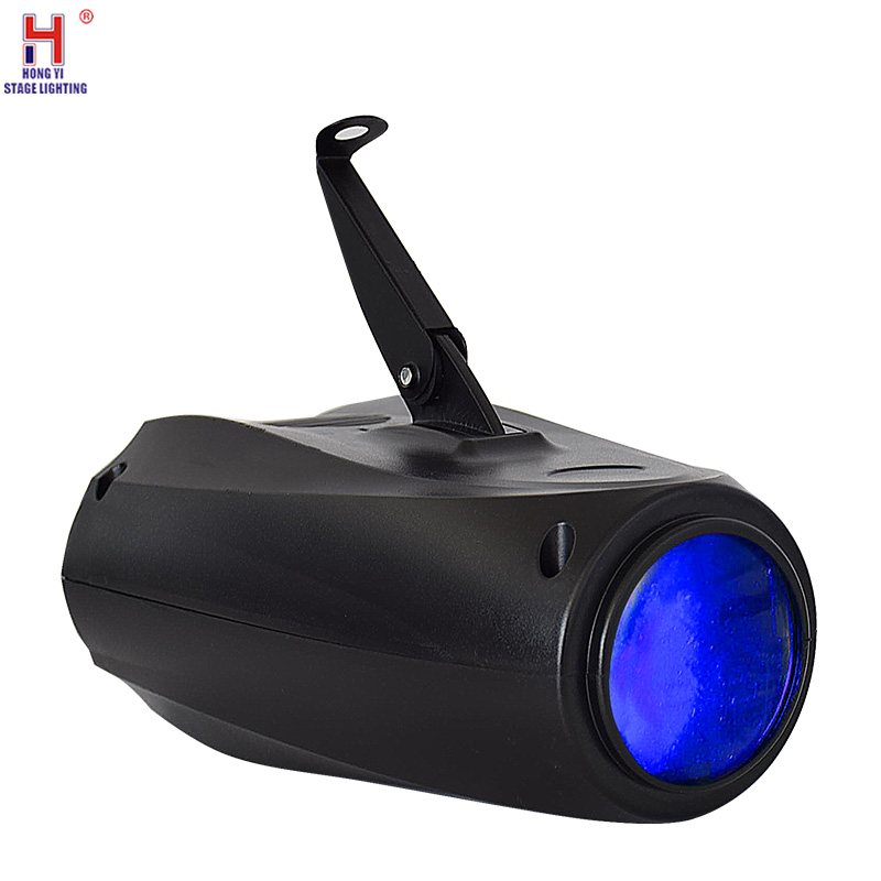 DMX Stage Light LED Small Airship Moon Flower Pattern Disco Light For KTV Pub Bar Home Party Stage Light DJ Effect Lighting