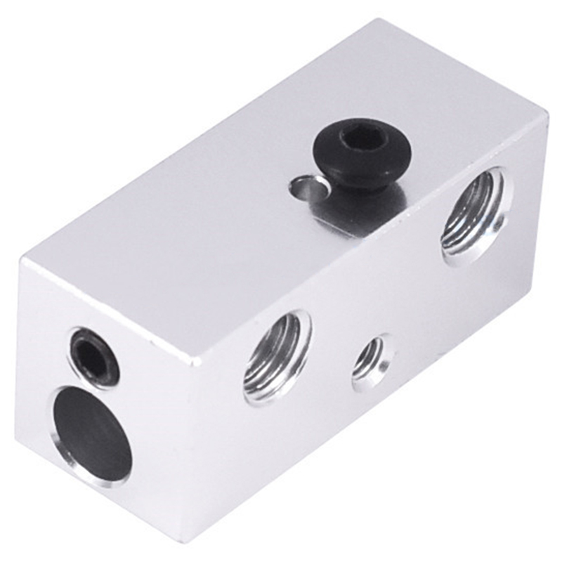 Image 5 - All Metal Multi Extrusion 2 In 1 Out Cyclops Aluminium Heater Block Multi Color Nozzel 1.75Mm For 3D Printer-in 3D Printer Parts & Accessories from Computer & Office