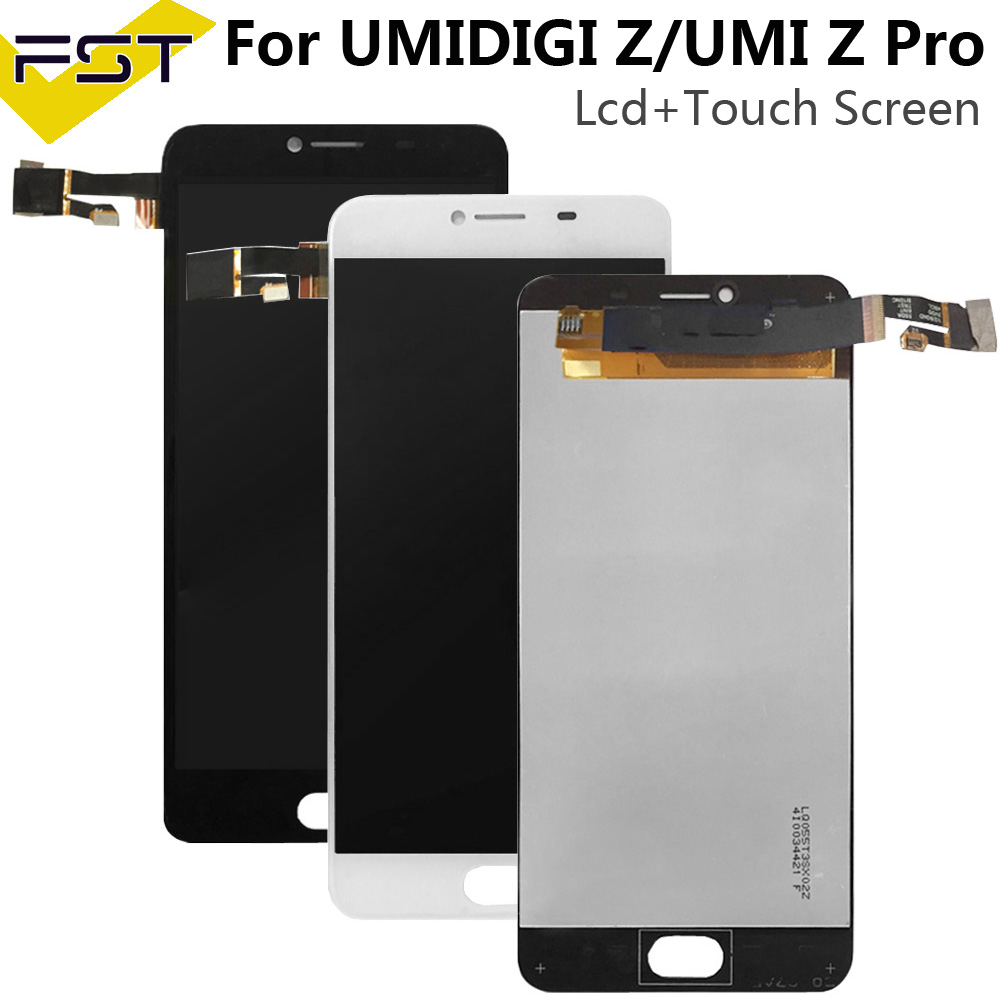 For Umidigi UMI Z / Z PRO LCD Display+Touch Screen 100% Tested LCD Digitizer Glass Panel Replacement +tools+adhesive