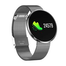 New Arrival Waterproof Fitness Tracker Heart Rate Blood Pressure Smart Watch for iOS Android Ra