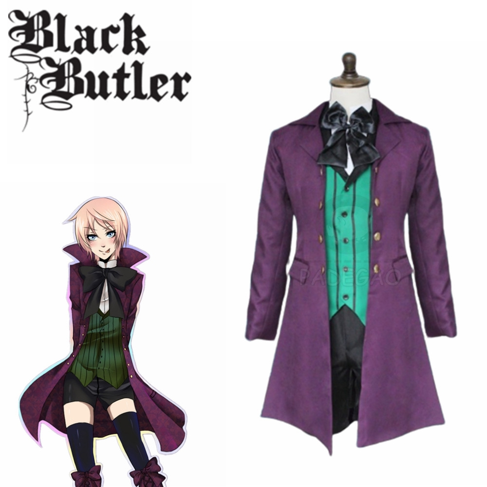 Anime Black Butler Alois Trancy Cosplay Costume Black Butler Season 2 Earl Alois Trancy Cosplay Set Uniform Complete Outfit