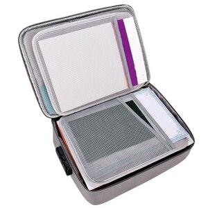 Image 5 - Wasserdichte Dokument Tasche Organizer Papiere Lagerung Pouch Credential Tasche Diplom Lagerung Datei Tasche mit Separator