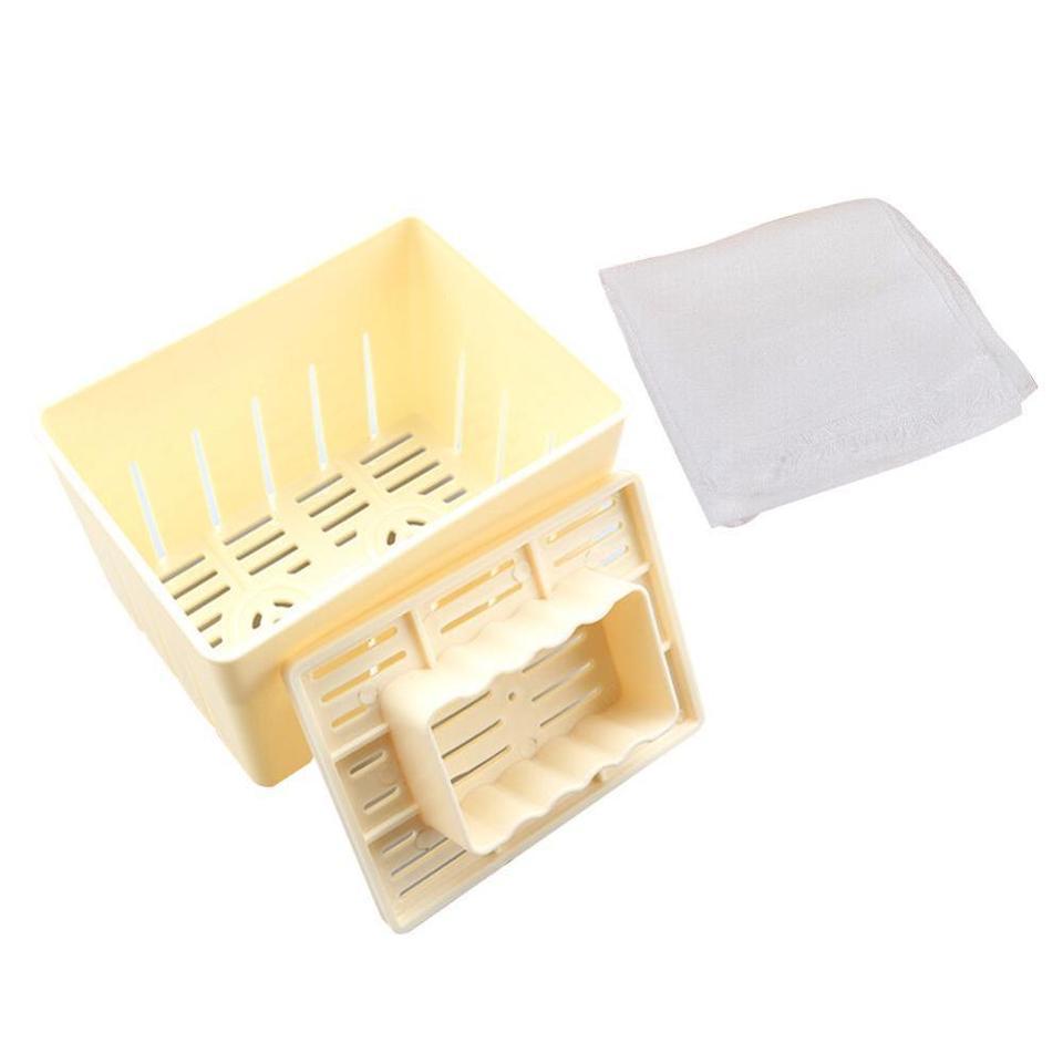 Käse Tuch DIY Soja Pressformen Küchenwerkzeug S0V8 Tofu Maker Presse Mold Kit