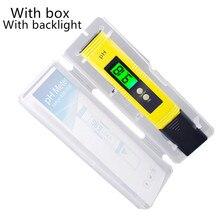 PH Meter Digital Acidità Tester Precisione 0.01 PH Tester Acquario Piscina di Acqua di Misura di Qualità di Vino di Urina di Calibrazione Automatica 22%