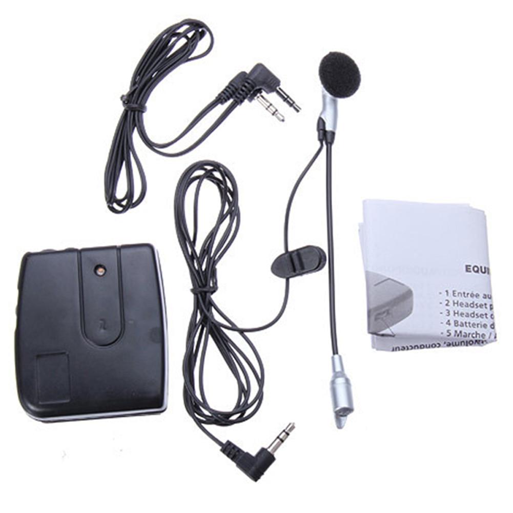 Handheld Walkie Talkie Headsets FM Radio Interphone Portable Motorcycle Helmet Intercom Dustproof Communication