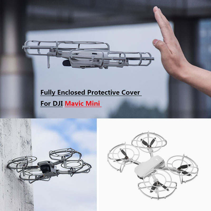 Fully Enclosed Protective Cage Cover For DJI Mavic Mini Protector Propeller Guard For Mavic Mini Drone Protection Accessories