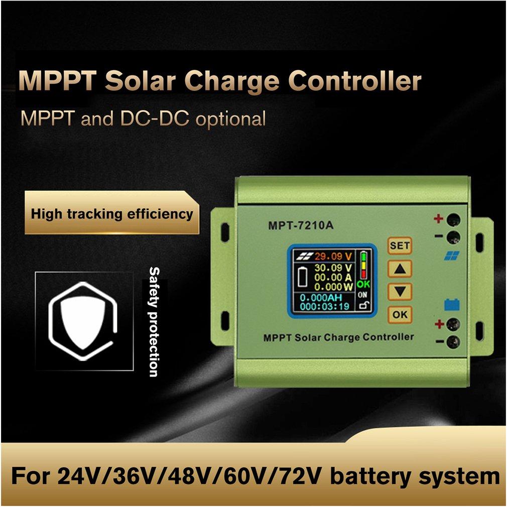 MPT-7210A Cor Display LCD MPPT Controlador de