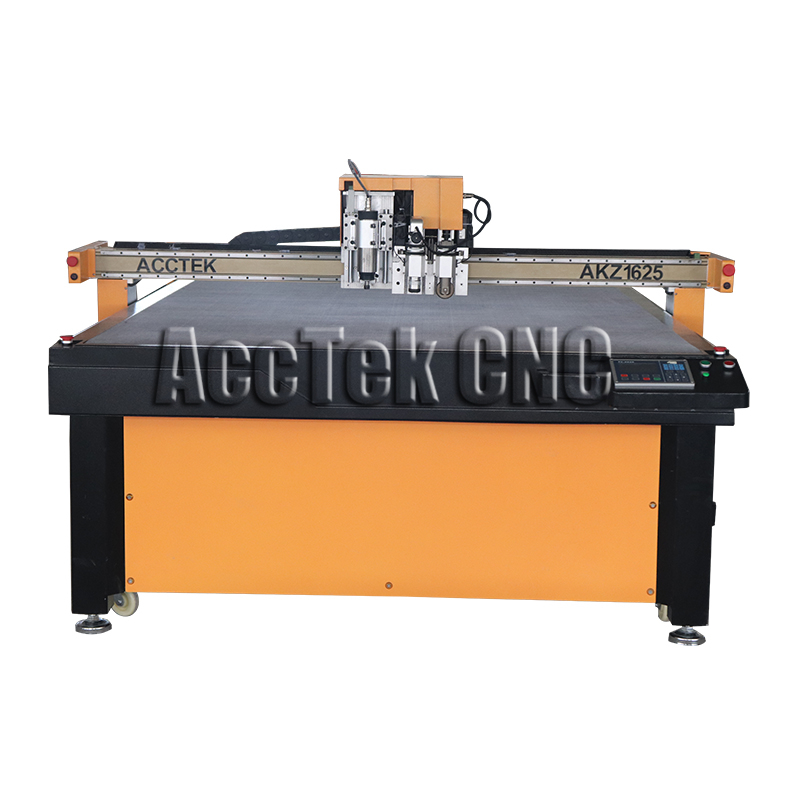 CNC Vibrating Round Knife Oscillating Blade Cutting Machine Cloth Leather