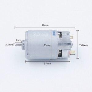 Image 5 - Dla Mabuchi RS 550VC silnik o wysokim momencie obrotowym RS 550VC 7527 ogólne RS 550VC 8518