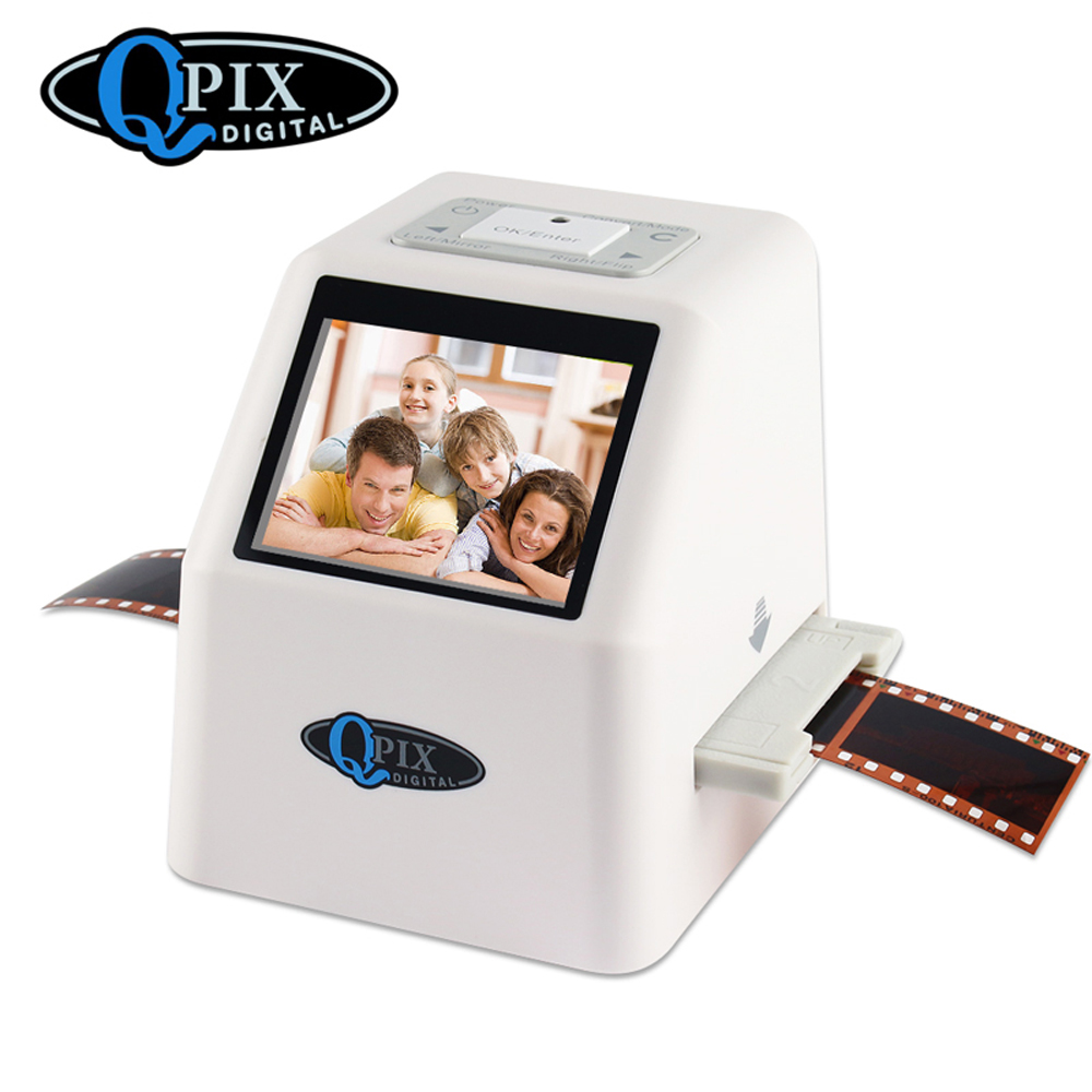 Portable 35mm Negative Slide Scanner Film Scanner Resolution 22 Mega Pixels 110 135 126KPK Digital Film Converter with 2 4inchLCD