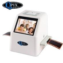 """Portable 35mm Negative Slide Scanner Film Scanner Resolution 22 Mega Pixels 110 135 126KPK Digital Film Converter with 2.4""""LCD"""