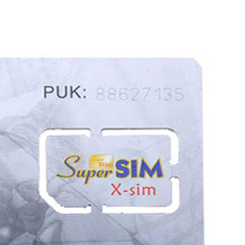 16 En 1 Max tarjeta SIM teléfono móvil Super Tarjeta de respaldo celular accesorio GV99