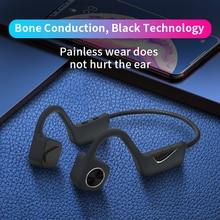B10 портативные беспроводные наушники Bluetooth 5,0 беспроводные гарнитуры костной проводимости спортивные наушники с защитой от пота