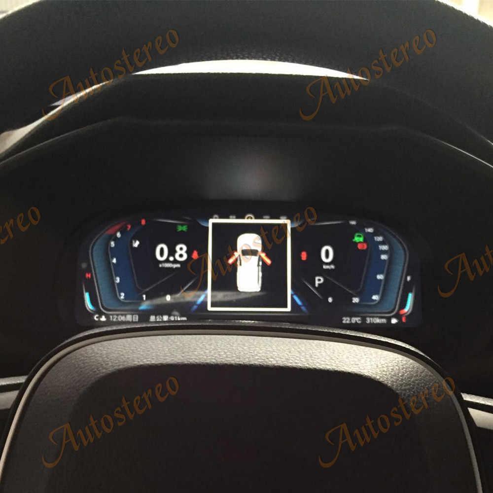 12.3 pollici Android 9.0 Schermo Misuratore Auto Cruscotto Display Dello Strumento Per Toyota RAV4 RAV-4 2019 2020 Lettore Multimediale Unità Principale