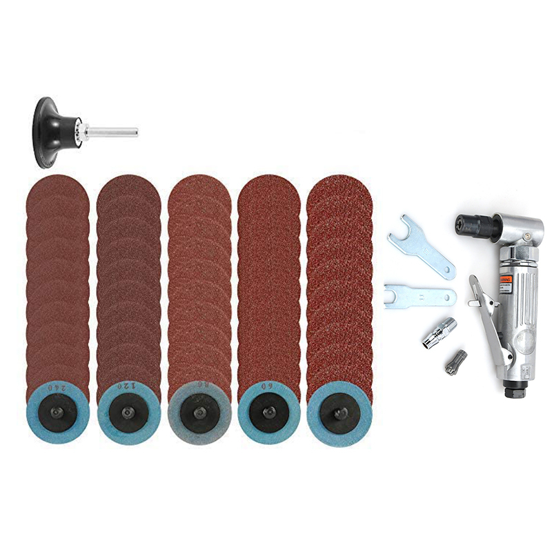 1 Grinding Grinder Kit Sanding Polisher 4 Tool Die Mini Discs 90 Machine Engraving Air Angle Pneumatic Mill with Poratble Degree