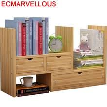 Biblioteca livro industrial mobiliário para casa crianças bois boekenkast mobiliário retro decoração rack estante caso